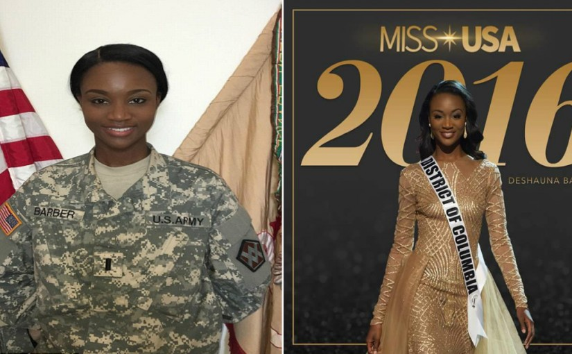 HOtt PiXX by Vic: DeShauna Barber Is The Newly Crowned 2016 Miss USA (06-06-16)