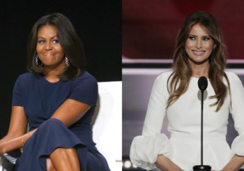 HOtt PiXX by Vic: First Ladies Fashion Featuring Michelle Obama & Melania Trump (12-26-16)