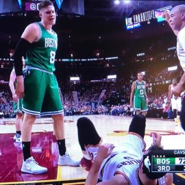 Victor Allen's Nu New Sportz: Jonas Jerebko Celtics Wake-up Call Defeat Cav's & Playoff MVP Lebron On Last Shot! (5-22-17)